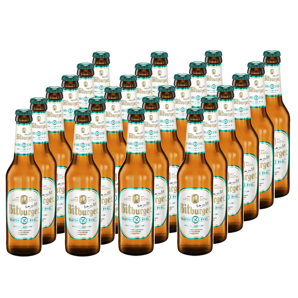 24 Flaschen Bitburger glutenfrei