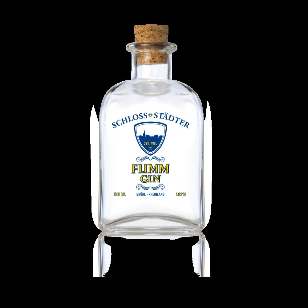 FLIMM Schlossstädter - feiner Gin 0,5 Liter Flasche