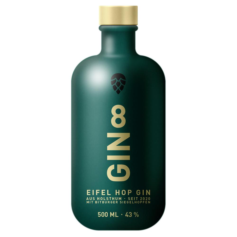 GIN 8 Flasche vorne
