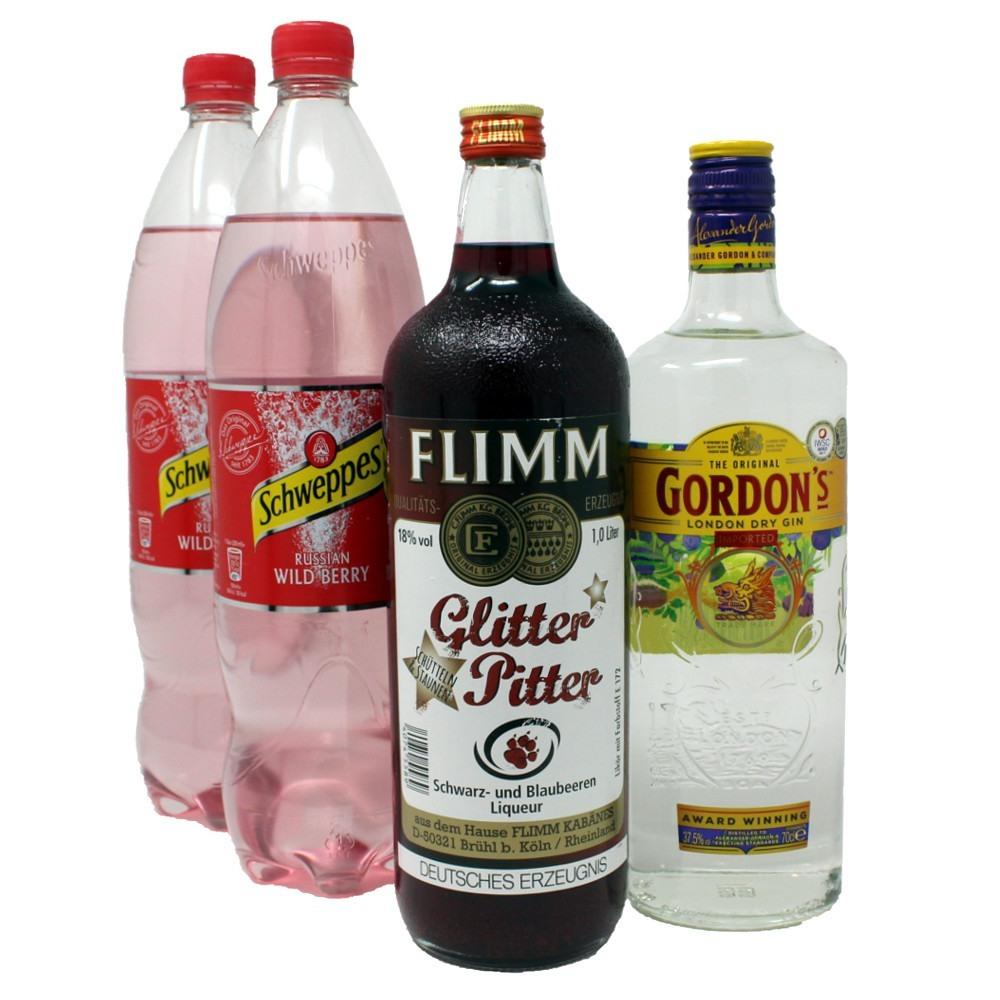 flimm glitter pitter & gin