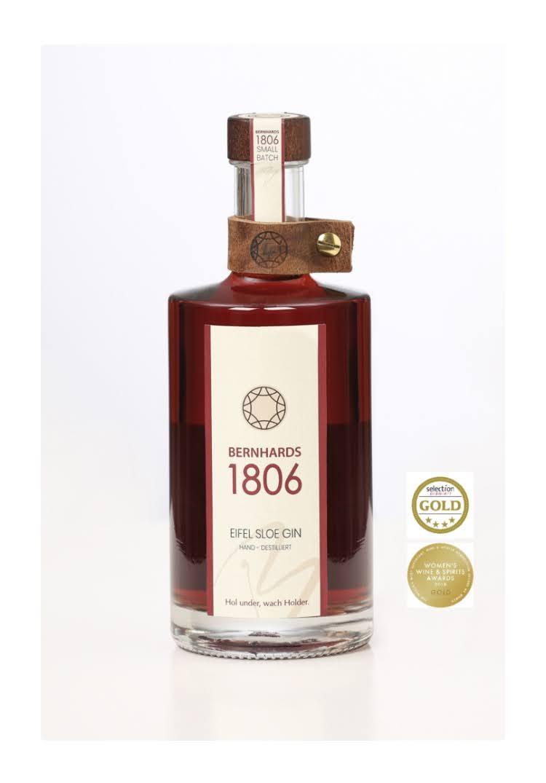 Bernhards1806-Sloe Gin mit Medalie