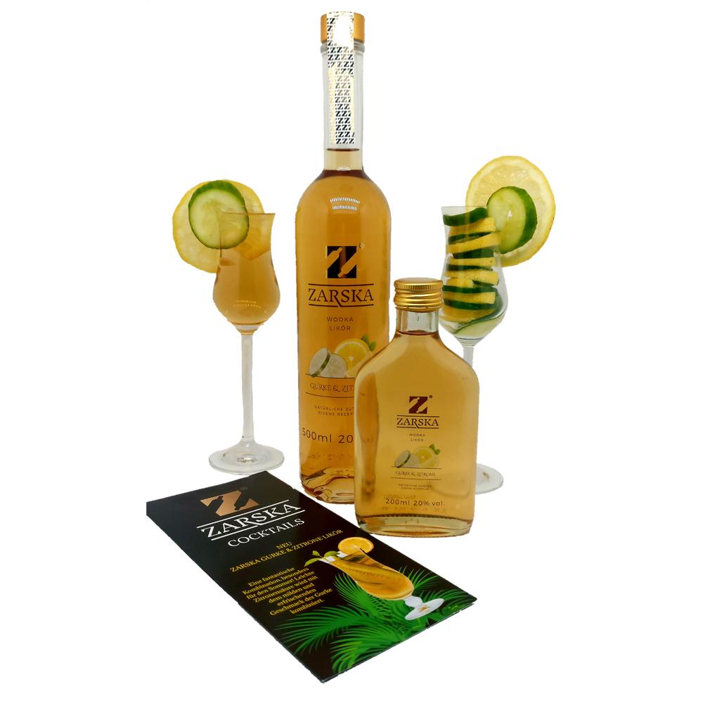 zarska gurke und zitrone 0,5 Liter